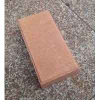 驼色烧结砖高温烧结粉色陶土砖园林景观砖道板砖