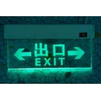 背光源疏散指示灯 消防应急灯 有机吊牌标志灯