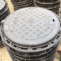 天津球墨铸铁井盖700圆形重型井盖批发