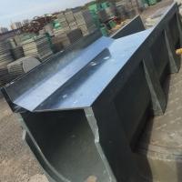 天津树脂线性U型排水沟缝隙式不锈钢沟盖板