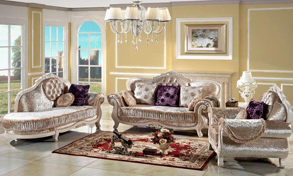玫妃美式沙发图片
