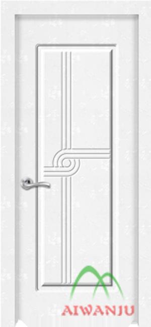 皮革木质复合门