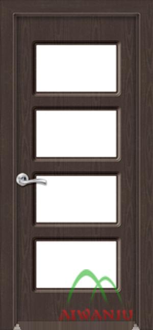皮革工艺玻璃门