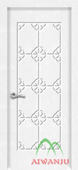 皮革木质复合室内套装门