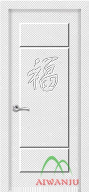 EVA皮革浮雕门