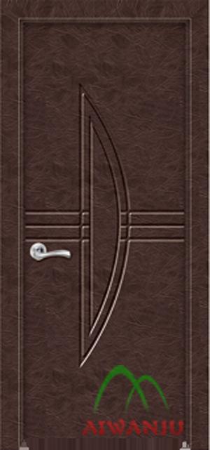皮革套装门