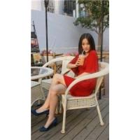 康福特花园家具,藤艺单椅。