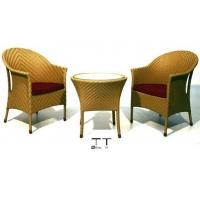 仿古典金黄色混色1042藤制家具。