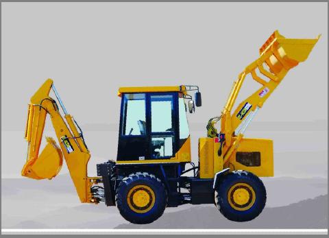 隆怡德机械供应全液压挖掘装载机