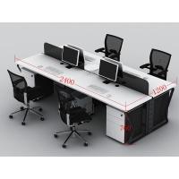 【屏风办公桌】西安组合办公桌 -OY-D4-2412