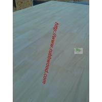进口橡胶木指接板20AB门板规格