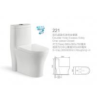 WC-221 双孔超漩式连体坐便器