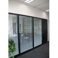 双层玻璃百叶钢质烤漆办公隔断系列