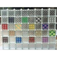 彩色空心玻璃砖 玻璃砖隔断 玻璃砖背景隔断效果图