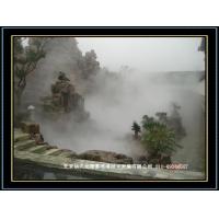 人工景观喷雾工程公园景观高压微雾加湿机喷雾降温干雾抑尘机