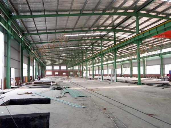 钢结构的厂房主要是指主要的承重构件是由钢材组成的