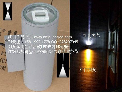 戶外LED雙頭壁燈 1頭窄光束 1頭寬光束-- 江門為光照明