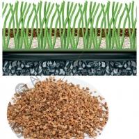 软木颗粒 足球场人造草坪填充颗粒