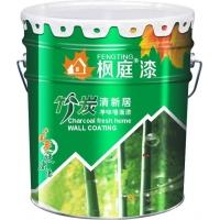 健康环保油漆涂料枫庭漆竹炭清新居净味墙面漆民族漆