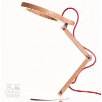 品质原木实木LED台灯-护眼读书灯-触摸调光-出口欧洲