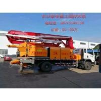 联圣重工21-37米搅拌泵车一体机