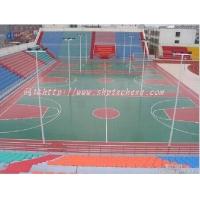杭州塑胶篮球场设计