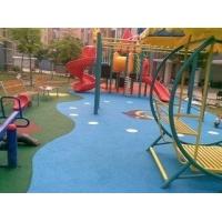 杭州小区游乐场塑胶地坪