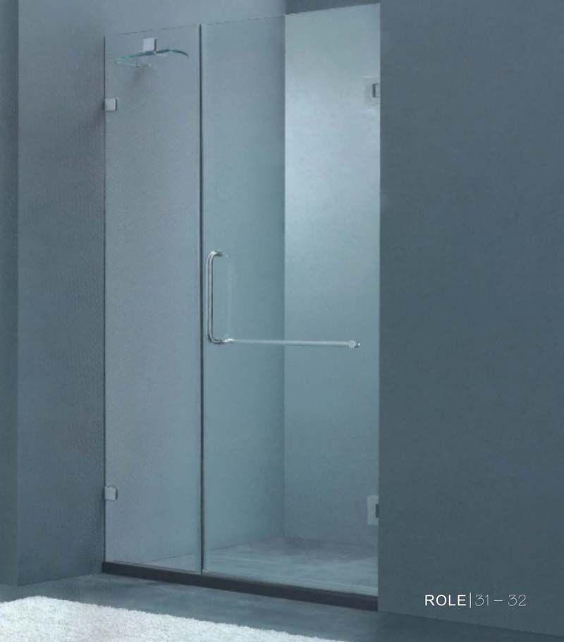 钢化玻璃沐浴门,卫生间吊趟门,沐浴吊趟门,洗手间吊趟门 高清图片
