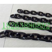 19mm发黑链条,发黑起重链条,发黑矿用链条