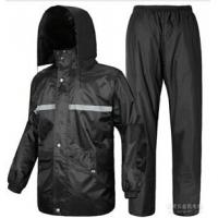 雨衣套装 军用长雨衣 牛筋雨衣