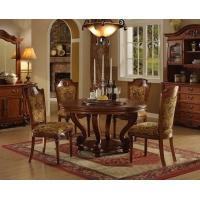 美式实木餐椅定制,田园乡村全实木餐桌椅,别墅酒店餐厅用餐椅