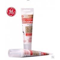 美国GE284白色厨房浴室用牙膏管中性抗菌防霉密封硅胶玻璃胶