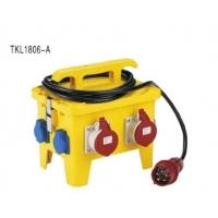 TIBOX欧标户外12位移动防水配电箱 插座箱 充电桩电源箱