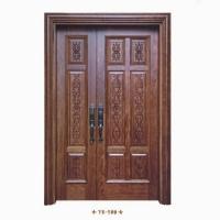 阳森木门-入户大门