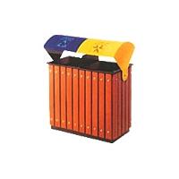 铁木果皮箱、垃圾箱