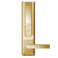 SHS-DL50、家用密码锁、磁卡锁、进口电子门 三星防盗门