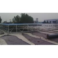 LNG加气站网架_天然气液化站网架_加油站工程