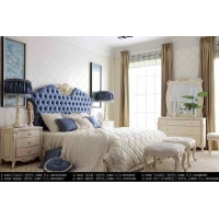 新古典别墅,套房样板房家具,欧式酒店实木家具,欧式古典大床