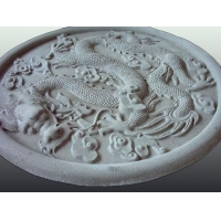 银松石膏浮雕