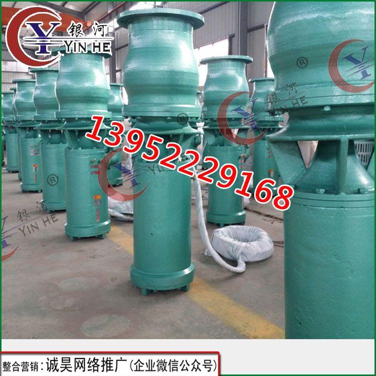 徐州QS型潜水混流泵排洪排涝用大流量排水泵