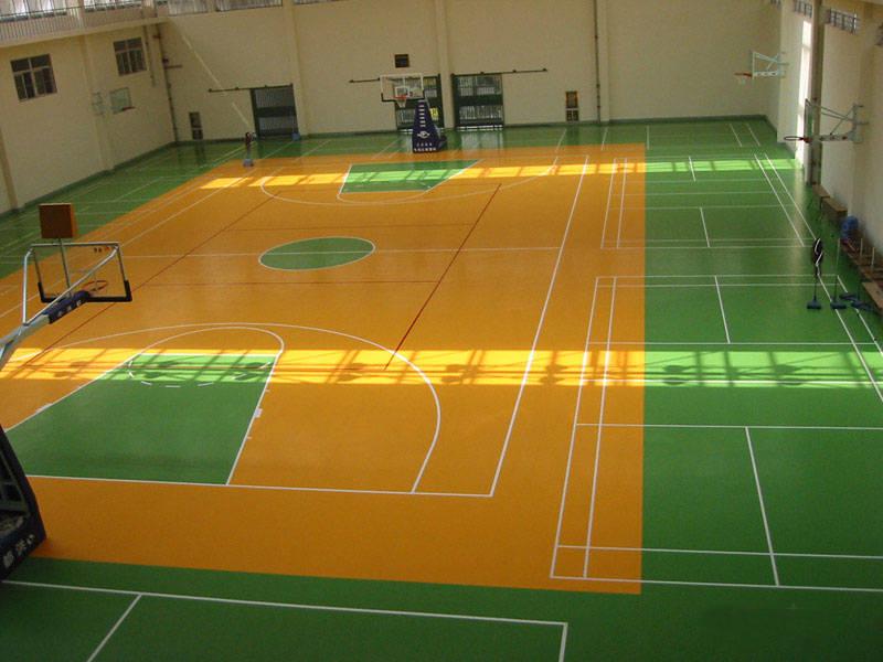 江西南昌篮球场专用运动地板