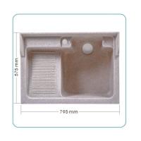 康美石英石水槽 洗衣槽 80厘米