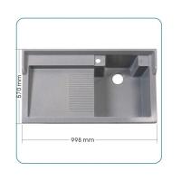 康美石英石水槽 洗衣槽 100厘米