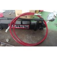 超高压手动泵 手动泵 液压手动泵 超高压不锈钢管