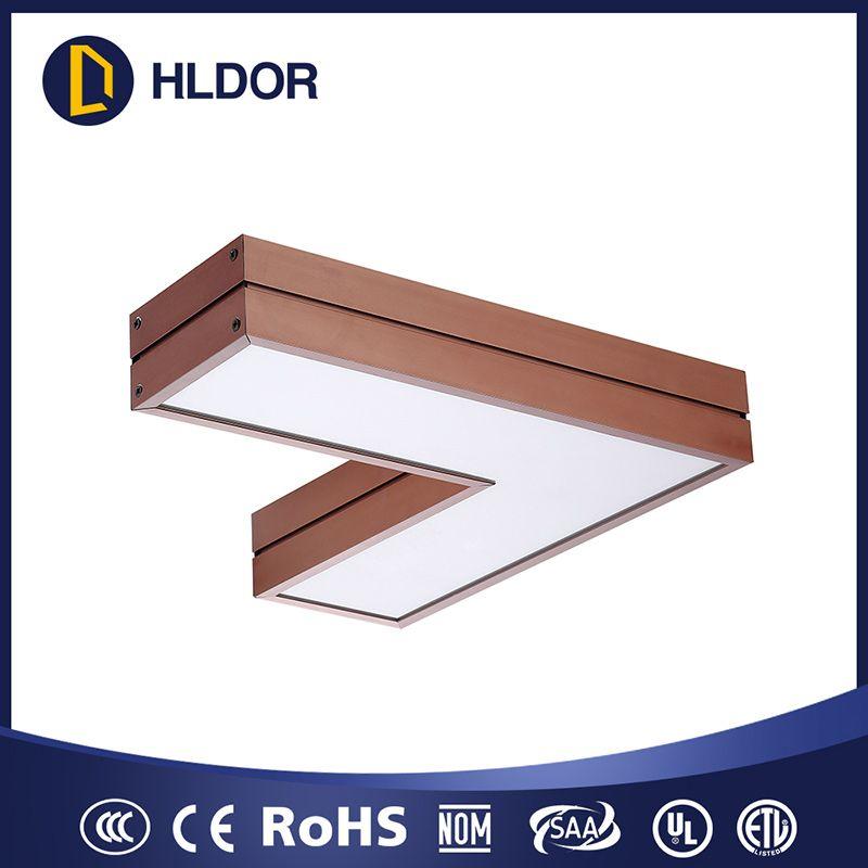 LED 铝型材L形灯450*450*50 600*600*5