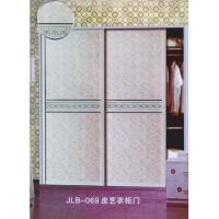 中亚门道-皮艺衣柜门 JLB-069