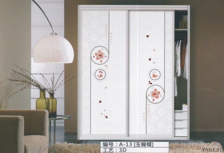 中亚门道-移门玻璃衣柜门