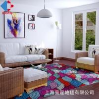 供应高清尼龙印花地毯 客厅茶几毯