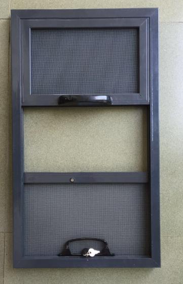 德国Polltec(波蒂歌)可拆卸三趟式防霾防盗纱窗