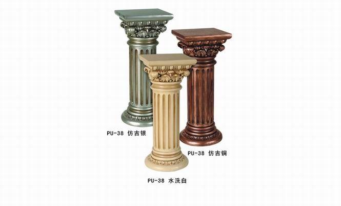 pu 罗马柱图片